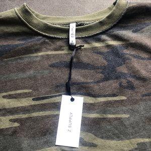 Z Supply The Oversized Camo sweatshirt